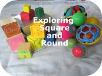 Baby Play: Exploring Square and Round