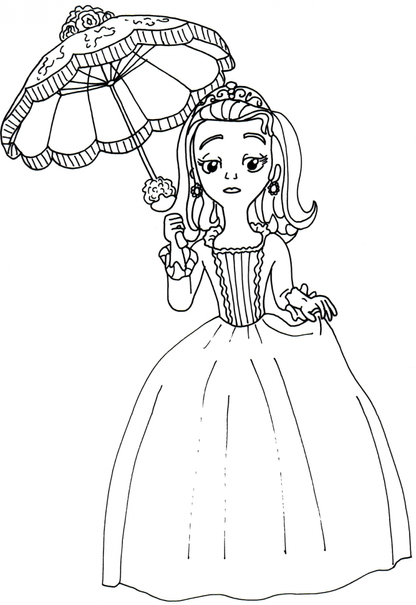 Disney Coloring Pages Sofia The First Amber Disney Coloring Pages Princess Coloring Pages Frog Coloring Pages