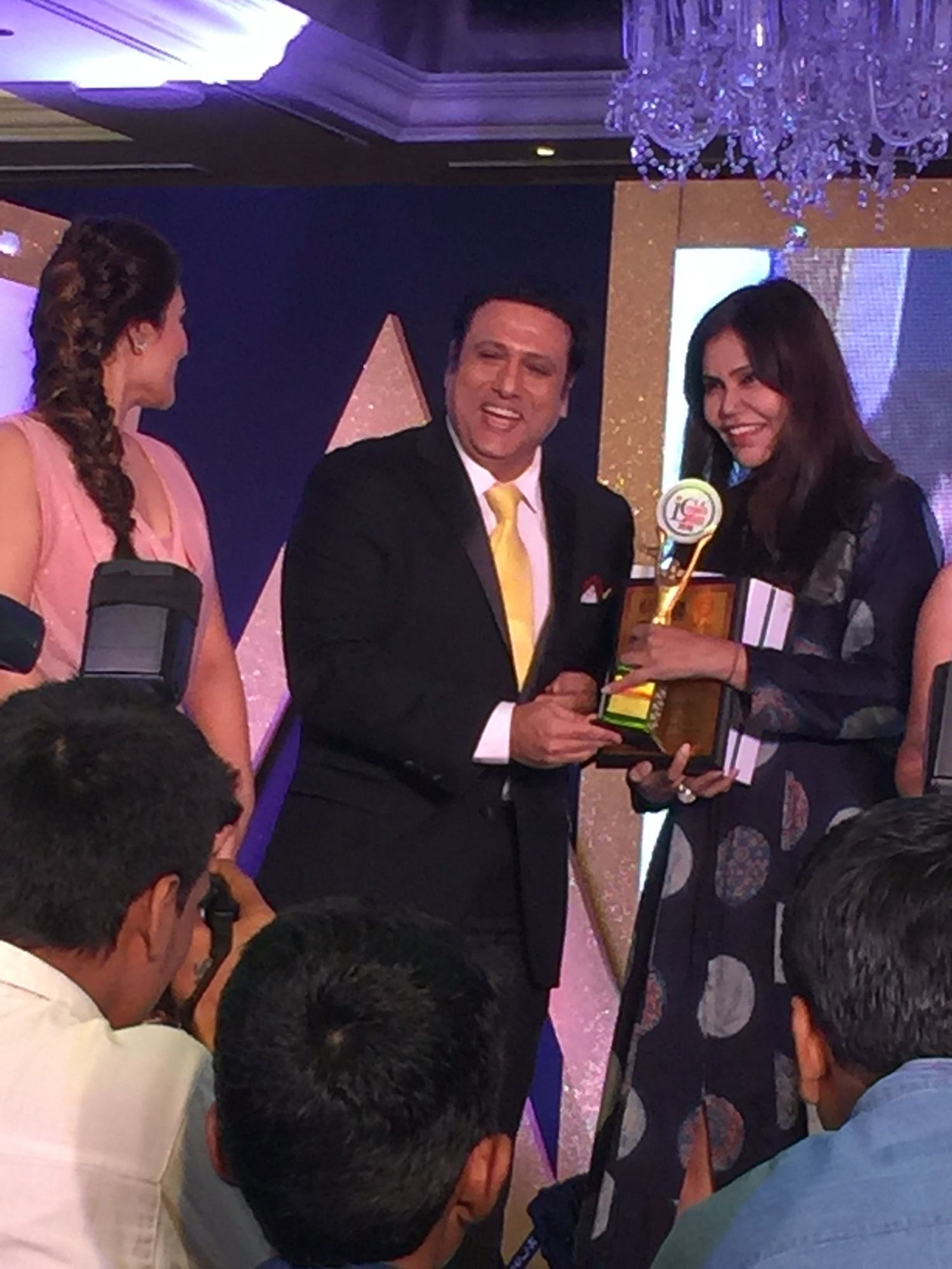 An award & invigorating panel discussions- appreciations & an overall positive feel! Tonight is a night of #gratitude #love #light #positive #award #recognition #acclaim #NishaJamVwalDesign #foracause #love #light #positivity #NishaJamVwal