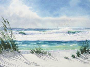 Richard E Williams Watercolor Prints Malerei Kunst Nordsee