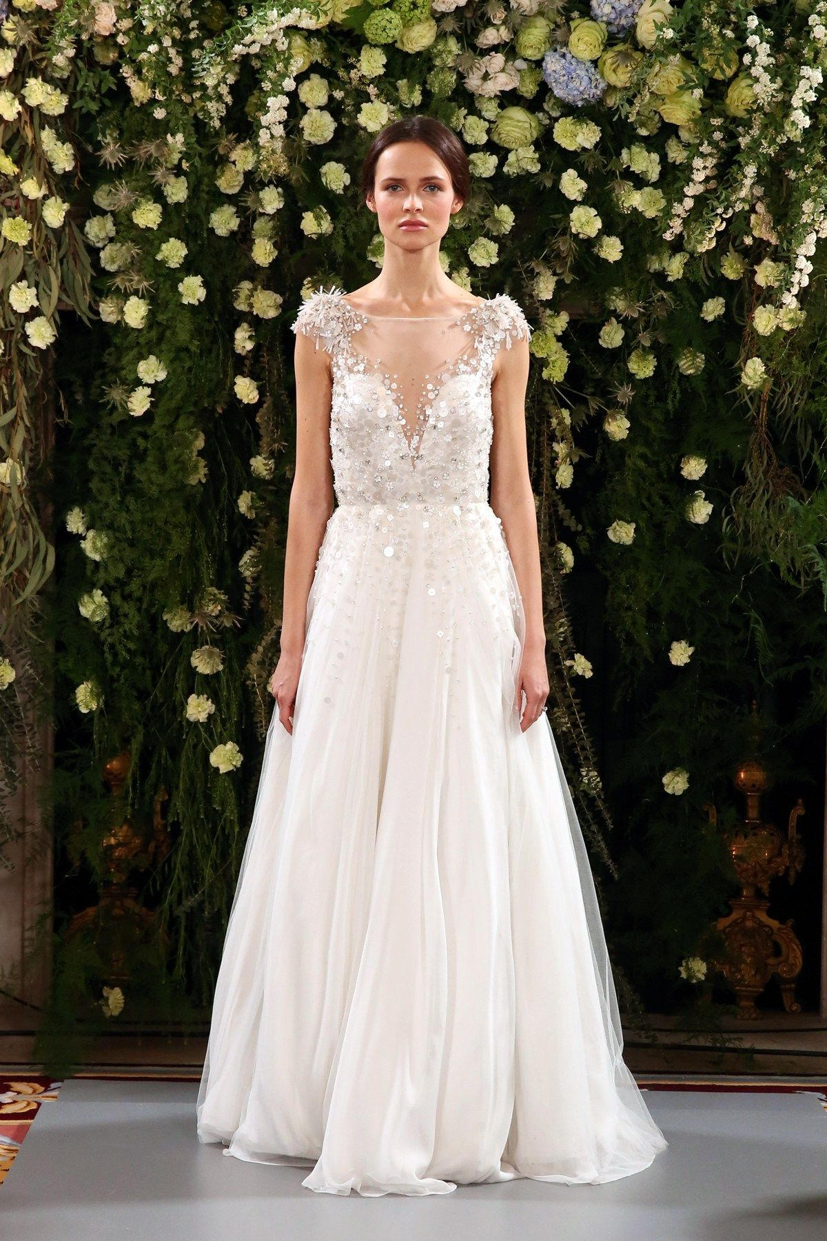 Trying on wedding dresses for the first time  Jenny Packham Introduces her  Bridal Fashion Collection  clasic