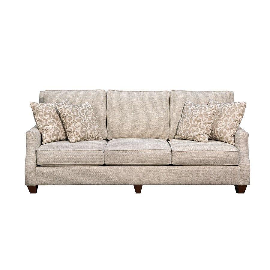 Mayo Clarion Cream Sofa Gallery Furniture