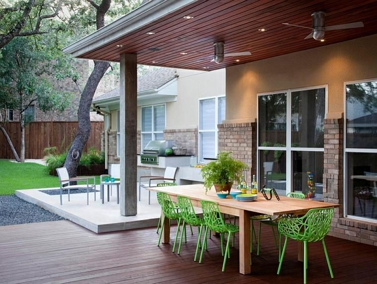 Deco Terrasse Veranda Meuble Exterieur Outdoor Dining Spaces Outdoor Living Outdoor Design