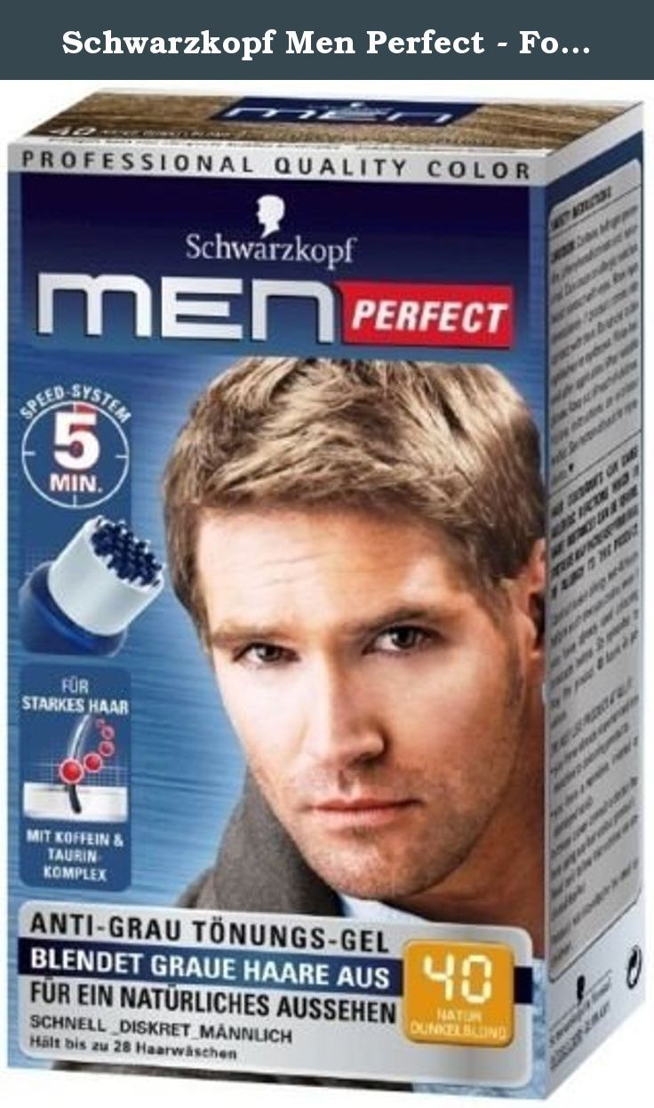 Schwarzkopf Men Perfect For Men Gentle Hair Color Gel D