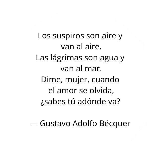 40 Ideas De Gustavo Adolfo Béquer Becquer Poesia Becquer Poemas Poemas