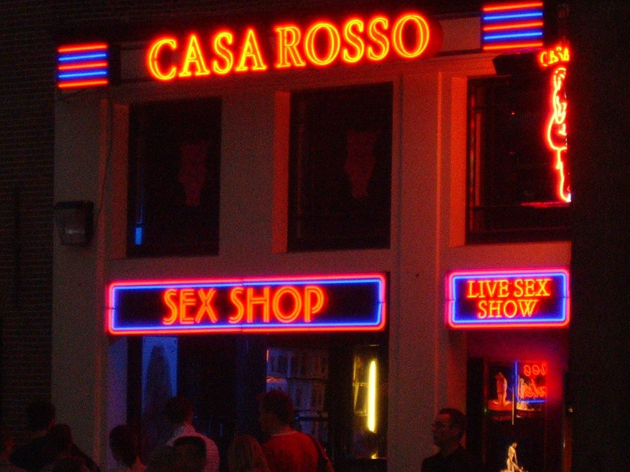red light sex shows