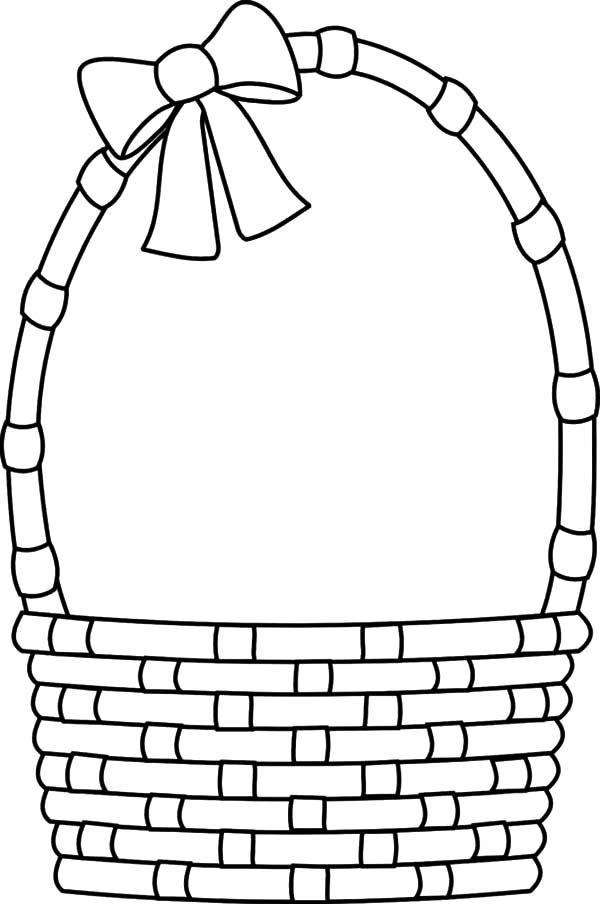 Pin By Evita On Groziiiii Coloring Pages Apple Baskets Easter Egg Basket