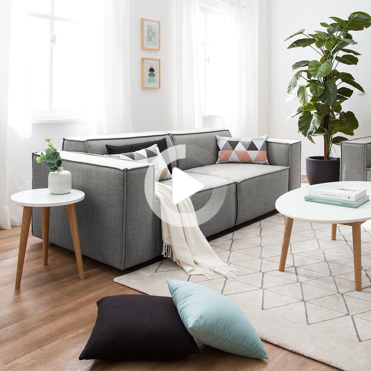 Canape Kinx 2 5 Places Tisses In 2020 Livingroom Layout Beautiful Sofas Floor Seating