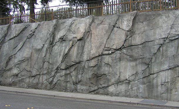 Top Preferred Shotcrete House Stone Wall Design Landscape Walls Concrete Retaining Walls
