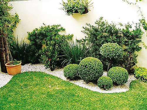 jardin exterior pequeño | inspiración de diseño de interiores ...