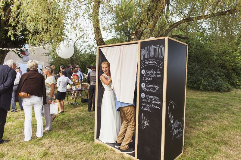 Location Cabine Photo Mariage