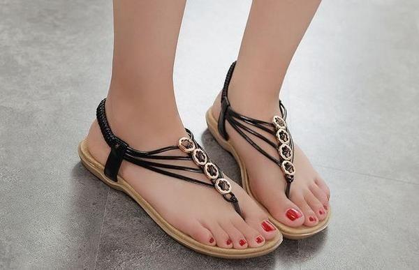 0c11f54a3d3b New Chic Style Female Flat Sandals