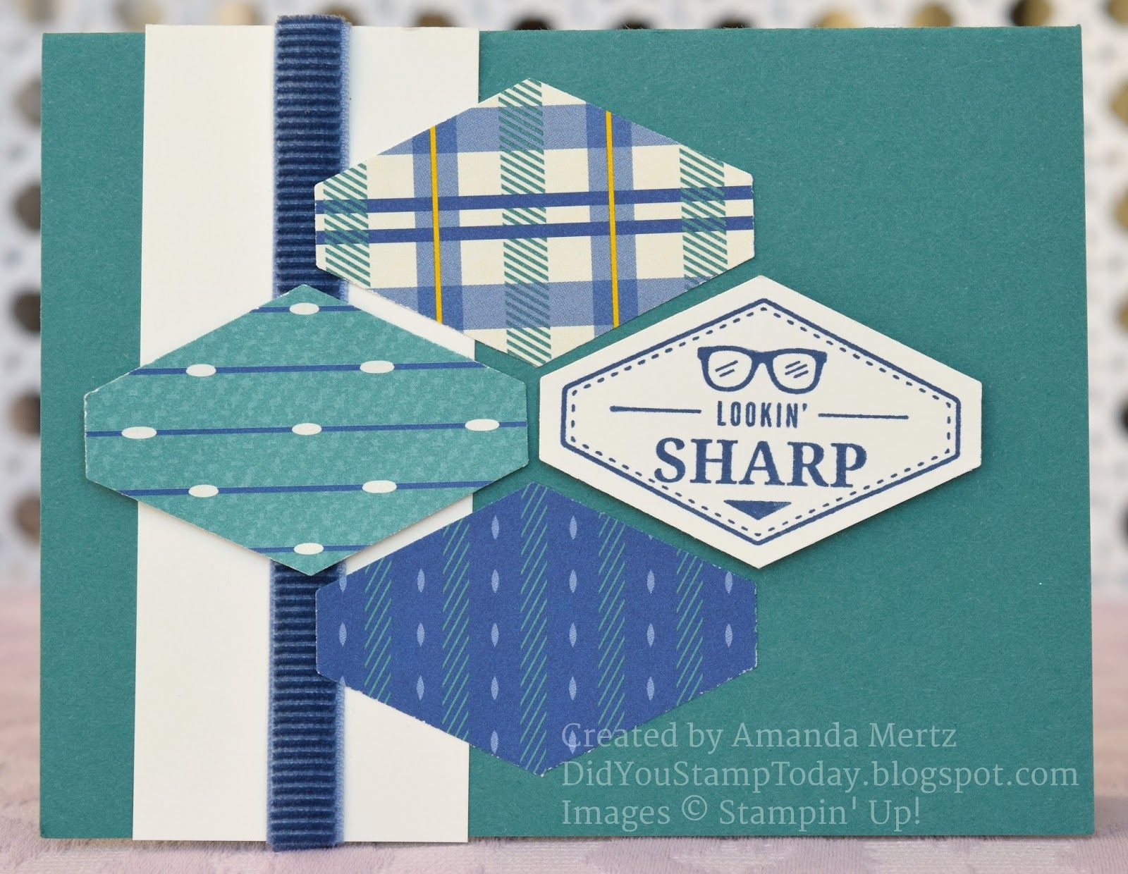 Tailored Masculine Stampin Up Truly Tailored Stampin Up Masculine Cards Fathers Day Cards The pair were set up by mutual friends about a year ago, a source exclusively tells. pinterest