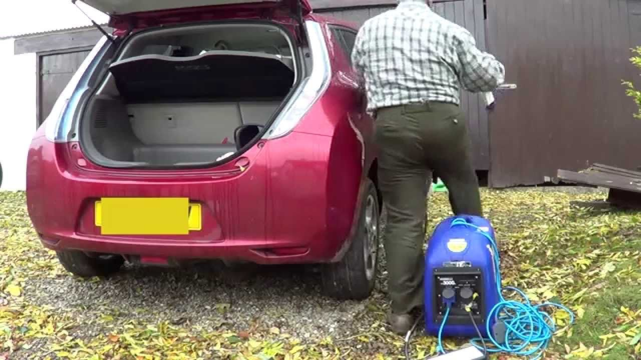 Sel Generators Charging Electric Car