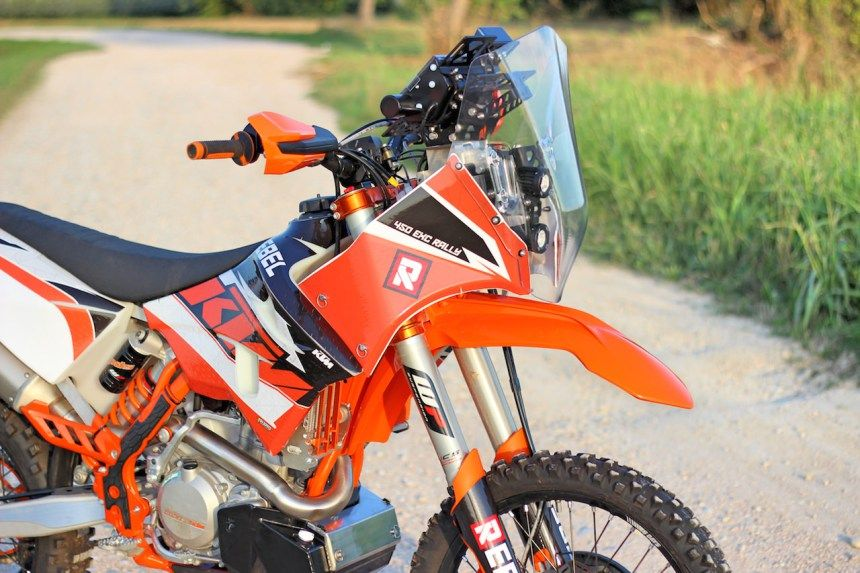 KTM EXC Rally Kit Dakar | Rally, Kit, Motorcycle