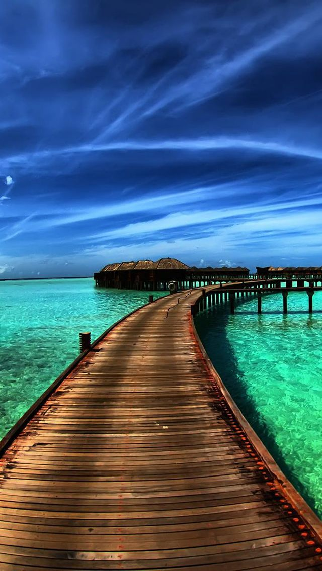 Paradise Skyscapes Iphone 5 Wallpaper Scenery Wallpaper Beach Pictures Wallpaper Beautiful Scenery Photography