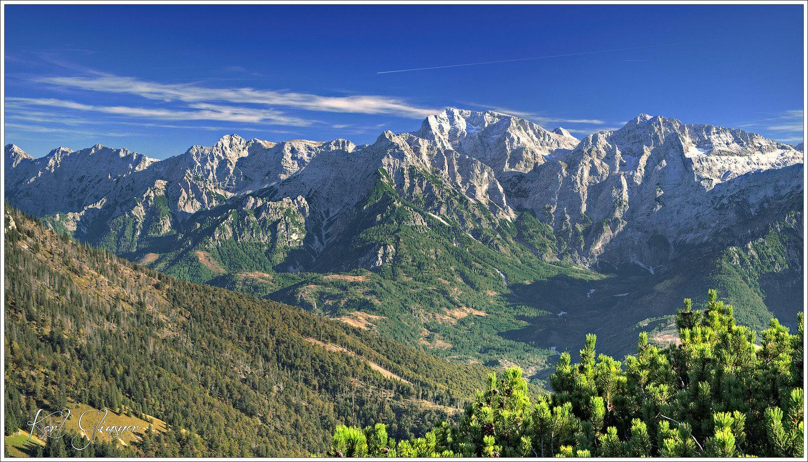 In the valley Grosser Oedsee and Kleiner Oedsee / Austria