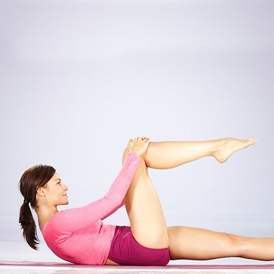 #fitness | Health.com #your #belly  Trim your belly with this Ab Flattener move!