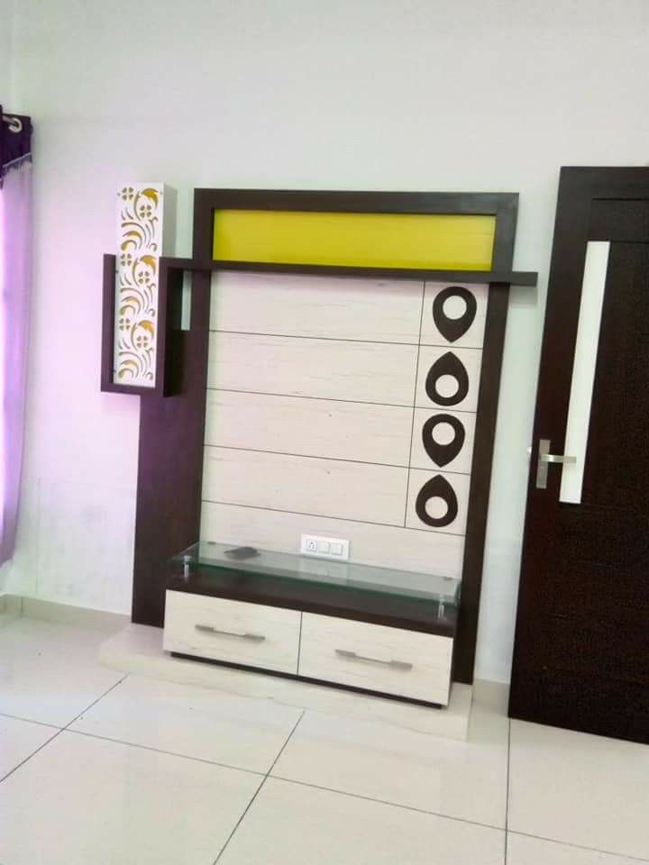 Lcd Unit Design Tv Showcase Lcd Units Modern Wall Units: Pin By Wood Working Idea On LCD Units