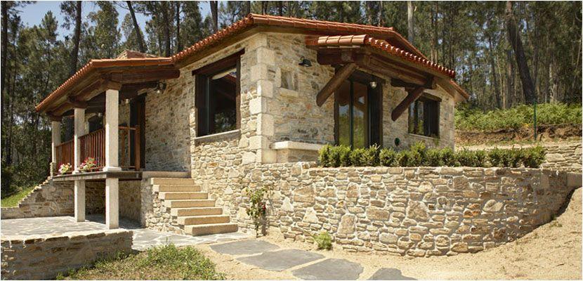 Construcciones r sticas gallegas casas r sticas de for Fachadas rusticas de piedra y ladrillo