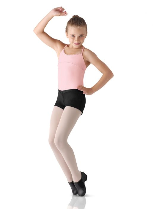 0b2658c99 Kids and Adult V Front Dance Hot Short by Leo s in Black  LD013CM ...