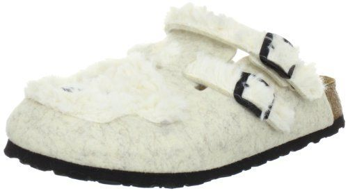 fc8321eed58 Birki   Kay Tiermotiv   from Felt in Ice Bear Beige with a narrow insole  Birki s.  67.39