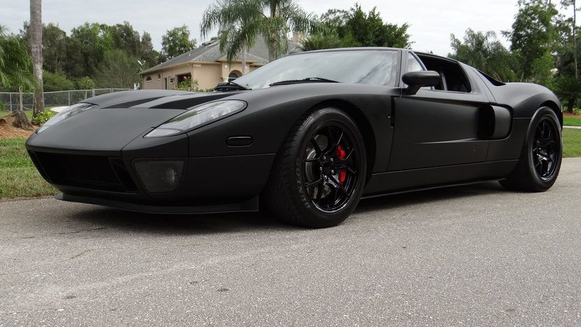 2005 Ford Gt Twin Turbo 5 4 1400 Hp 6 Speed Presented As Lot S80 1 At Kissimmee Fl 2014 Image1