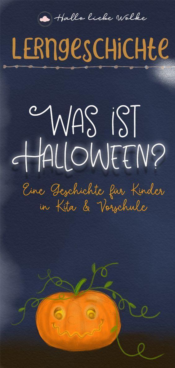 Lilli und die Halloween Geister. Eine Geschichte für Kinder. • Hallo liebe Wolke