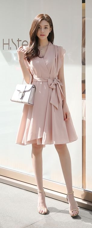 884109715e79e Luxe Asian Women Design Korean Model Fashion Style Dress Luxe Asian Women…