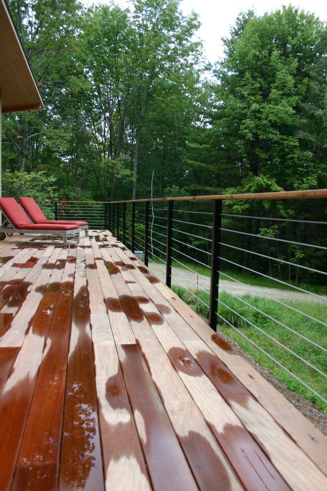 modern cabin: porch with long planks   Exterior   Pinterest   Balkon