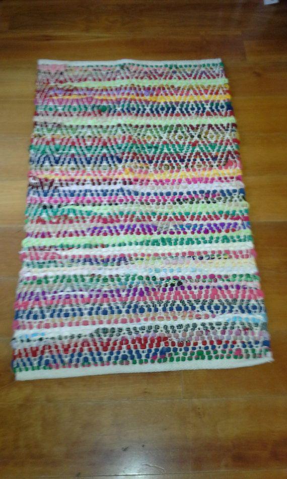 Locally Made Rag Rug Cotton Washable