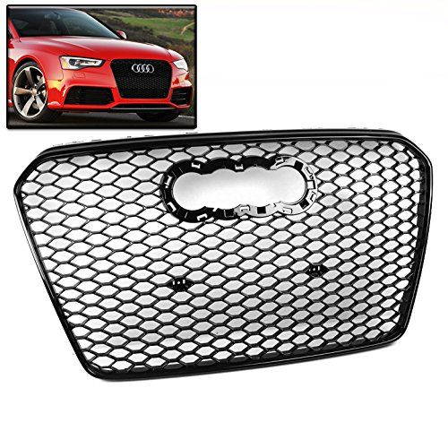Zmautoparts 15 Audi A5 S5 8f Honeycomb Mesh Front Hood Grille Grill Gloss Black Rs5 Style More Info Could Be Found At The Image Url Audi A5 Gloss Black Audi