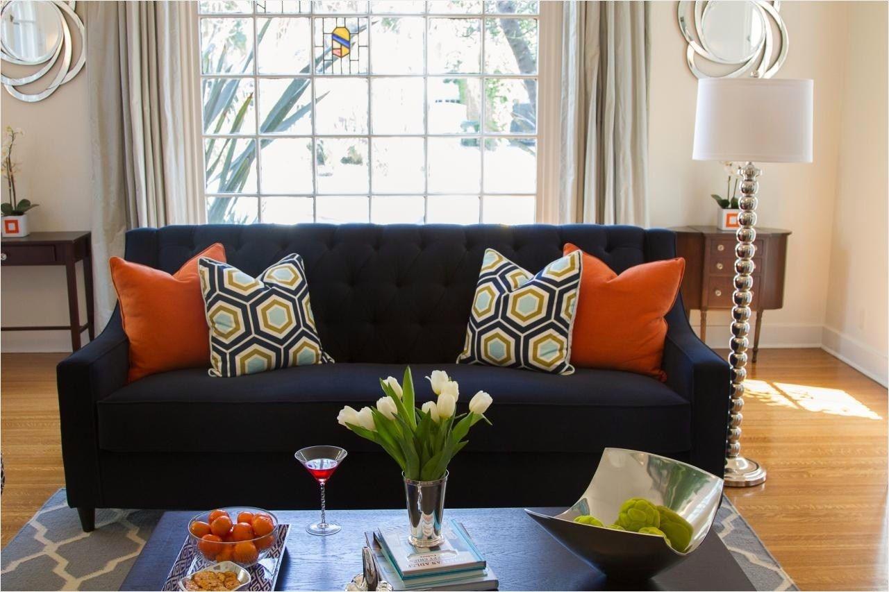 44 Stunning Navy And Orange Living Room 55 Orange Navy Gray Li