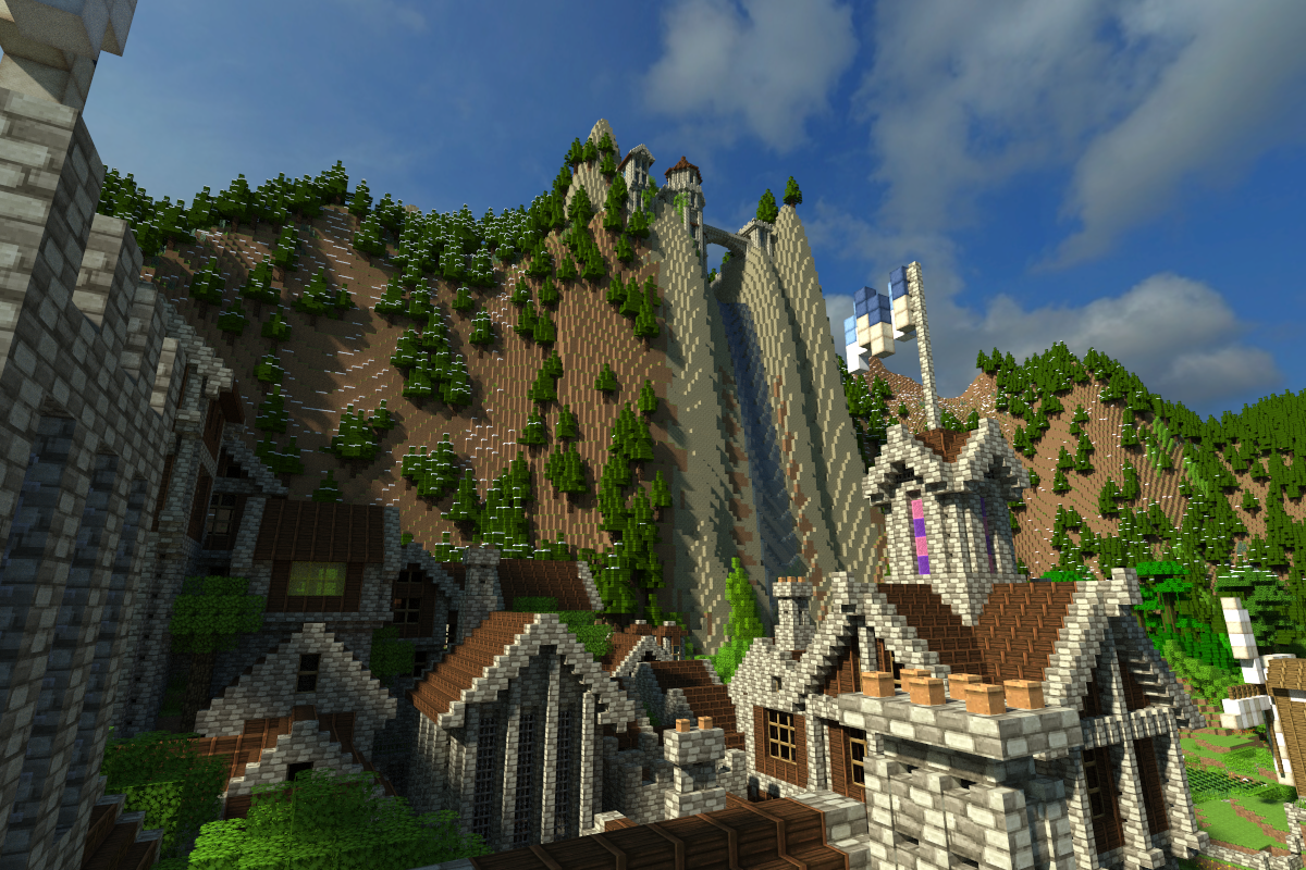 The Odyssey - a huge, built-up survival map with challenges
