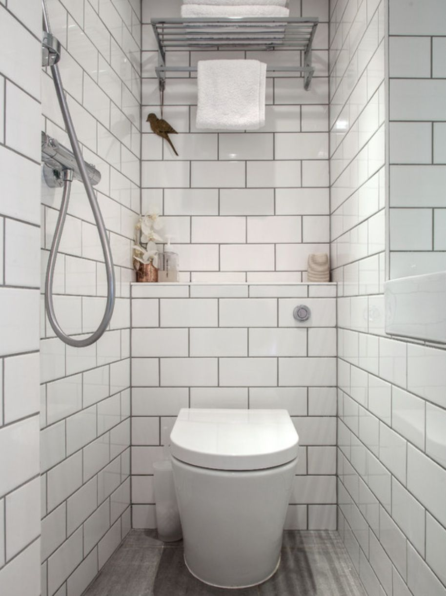 White tile, small area | Garden Micro Studio | Pinterest | White ...