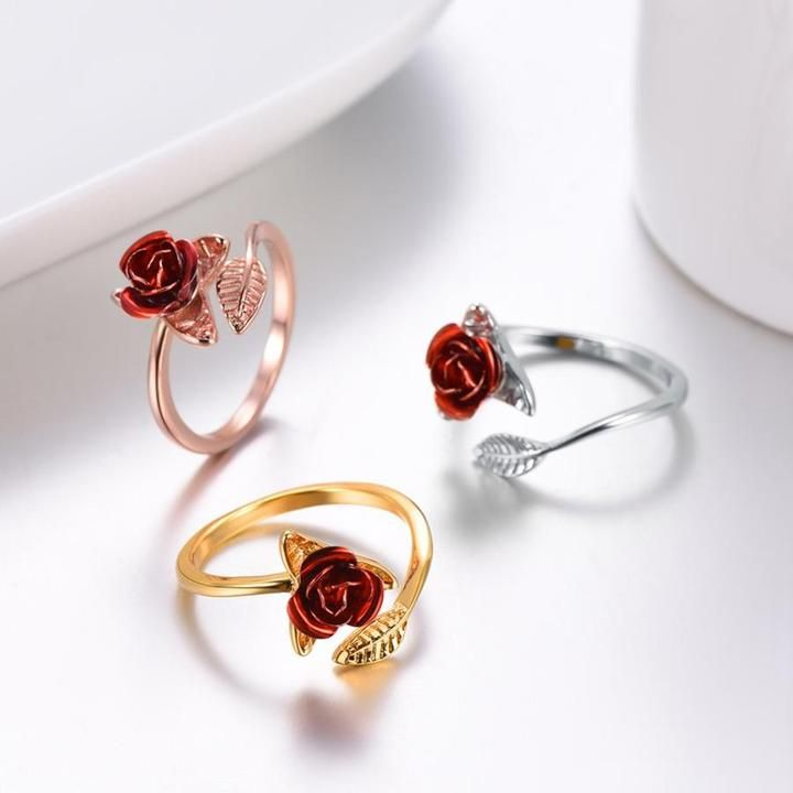 Resizable Rose Ring