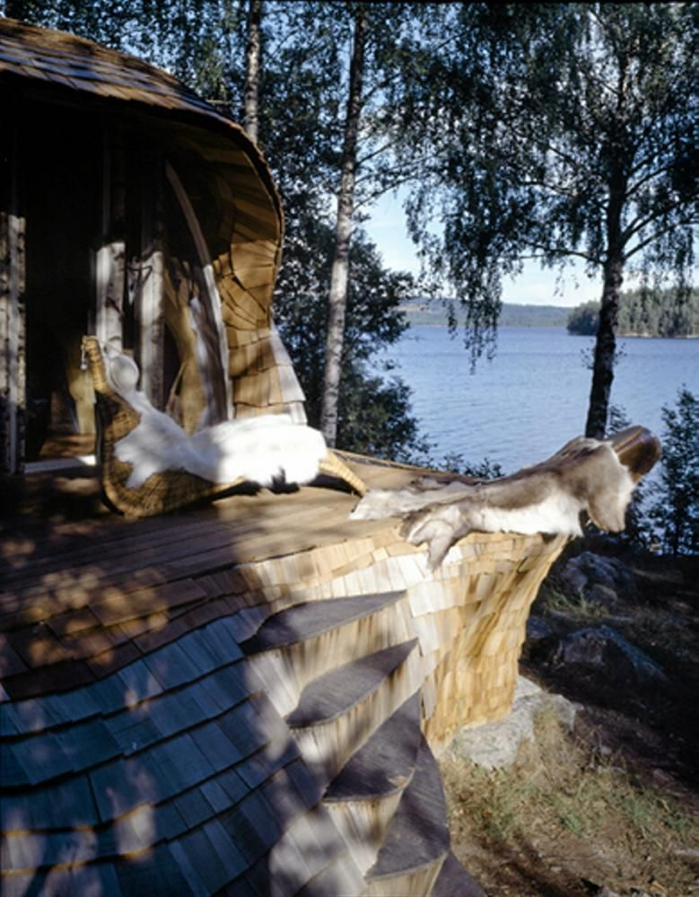 cabin in Årjäng made by arcitects Maartje Lammers og Boris Zeisser