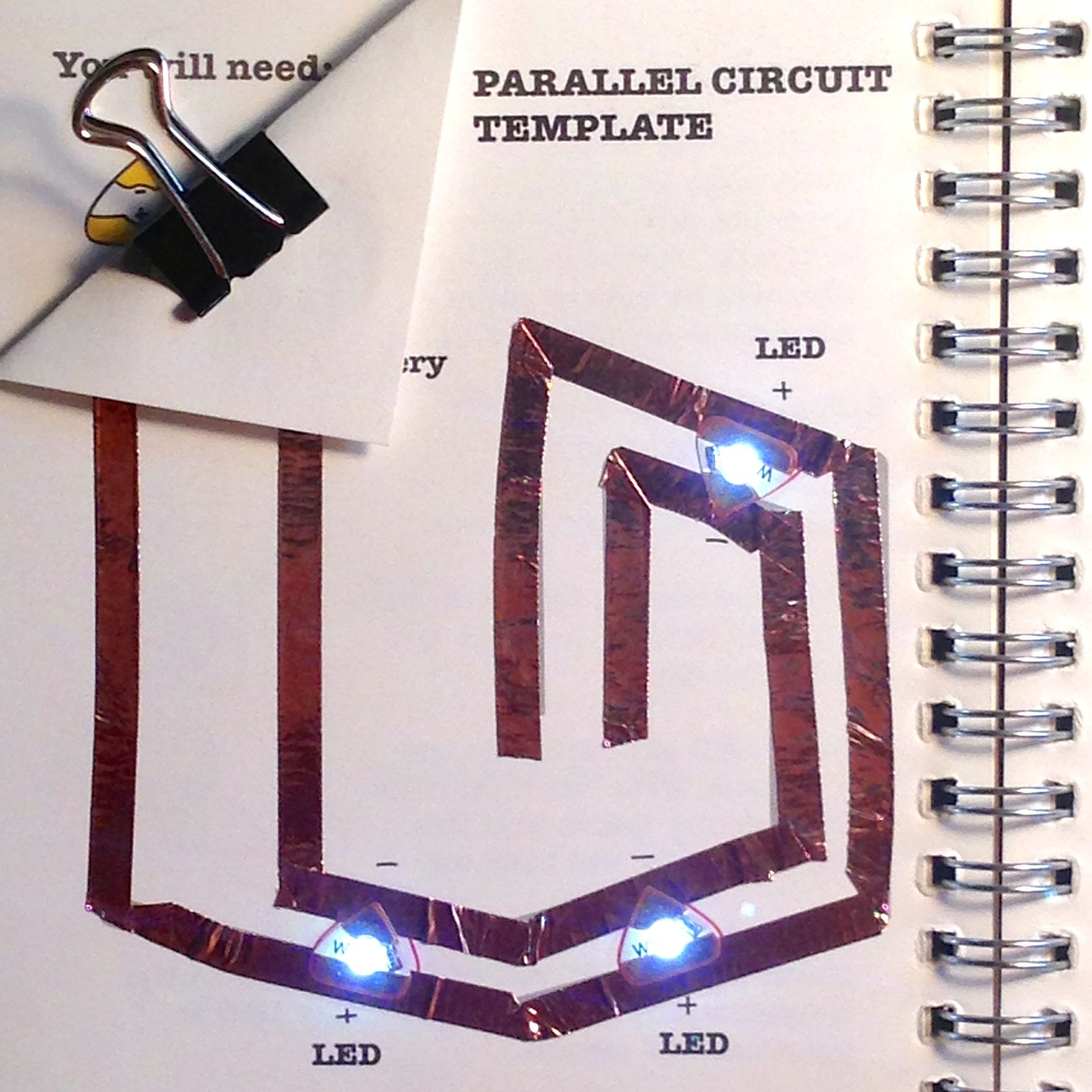 Learn Egate Fun Pinterest Learning Cards And Paper Parallel Circuit Simplest Physics Ever Introduction Beginner Tutorials To Help You Get Started With Circuits Each Tutorial Comes Free A Downloadable Template For Classroom Use