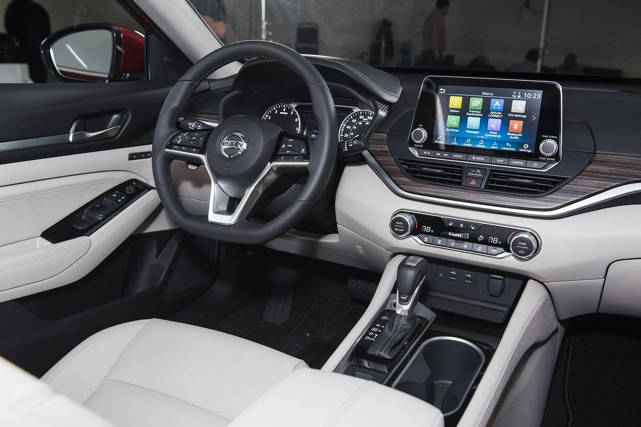 2019 Nissan Altima New Interior Nissan Altima Nissan Maxima