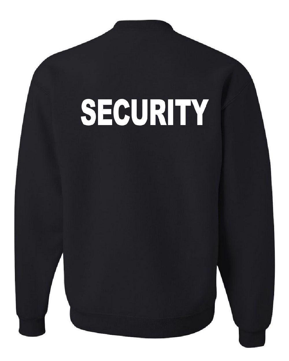 Security Sweatshirt Bouncer Police Event Staff Uniform Guard ...