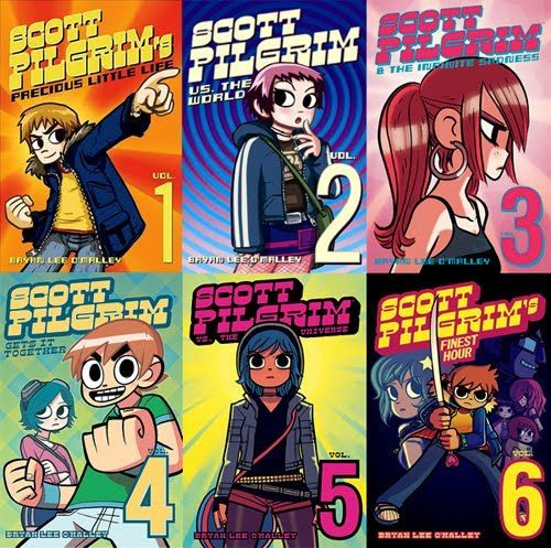 Image Result For Scott Pilgrim Vs The World Comic Books Scott