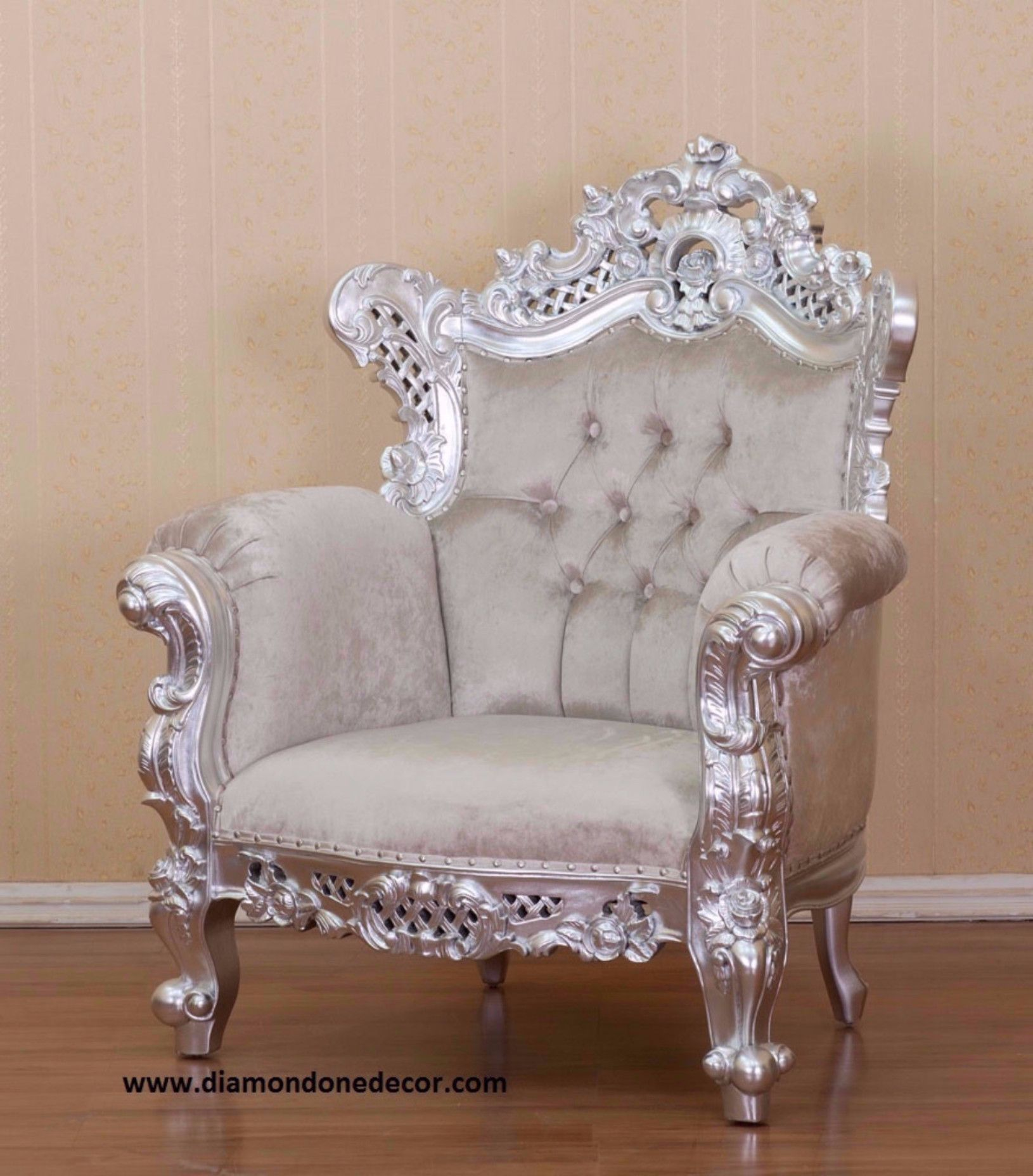 Budreau Fabulous Baroque French Reproduction Louis Xvi Chair Clic Home Decor House