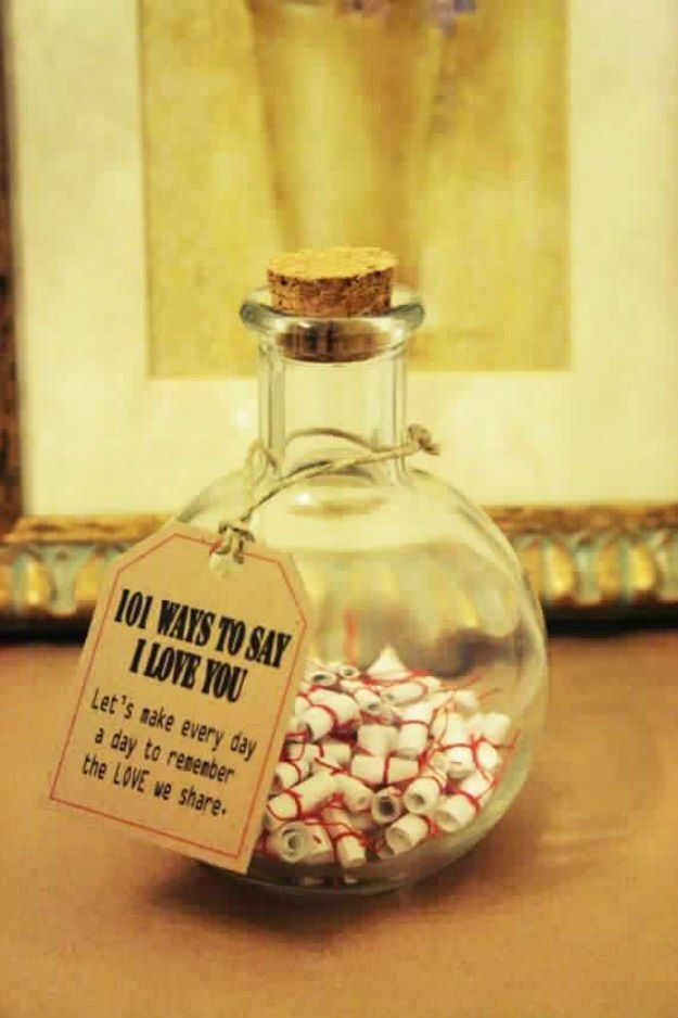 I made one of those note jars for my boyfriend. ❤ I think he. Diy Boyfriend  GiftsCraft ...