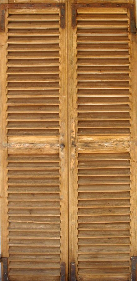 Louvre Cupboard Doors In Old Pine Decorative Cupboard