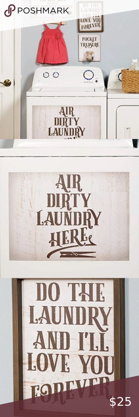 Farmhouse Style Laundry Room Signs in 2020 Room signs