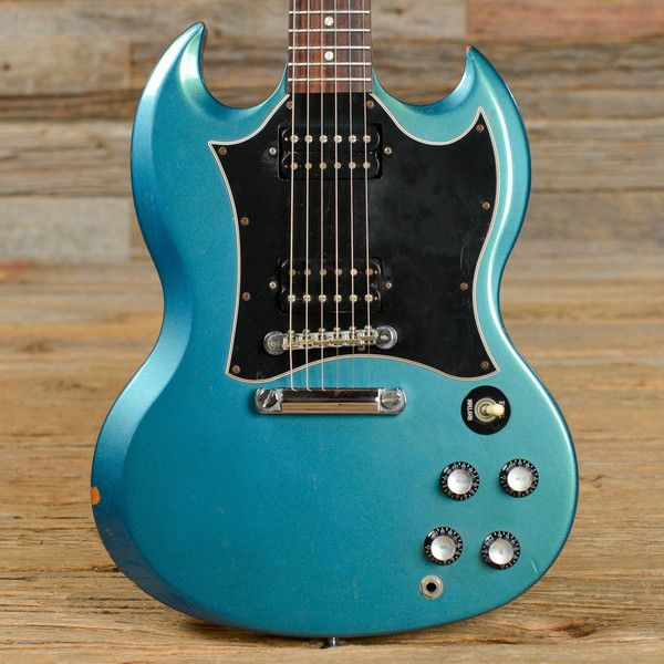 935b873c8 Gibson SG Special Flip-Flop Teal 2001 (s545)