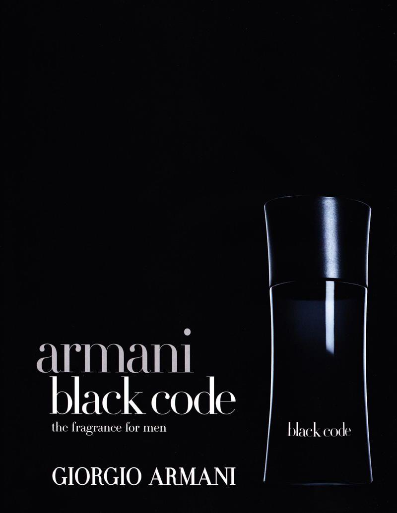 Enrique Palacios For Armani Black Code Fragrance Campaign