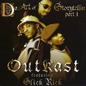 OutKast, Slick Rick – Da Art of Storytellin (single cover art)