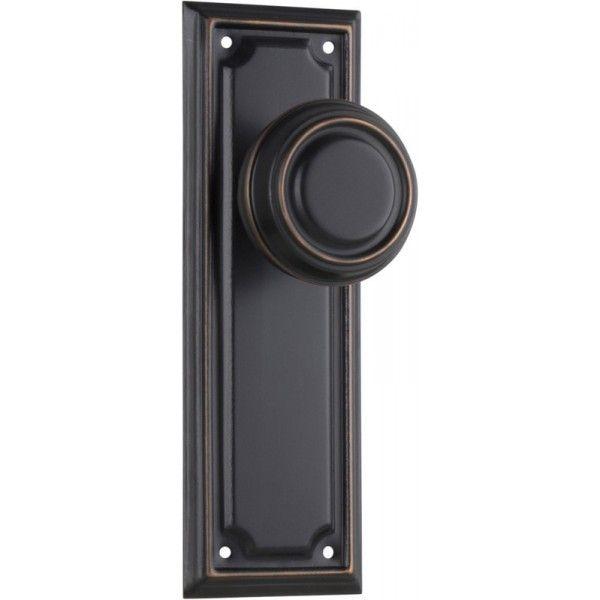 Edwardian Door Knob in Antique Copper | Antique copper, Door knobs ...