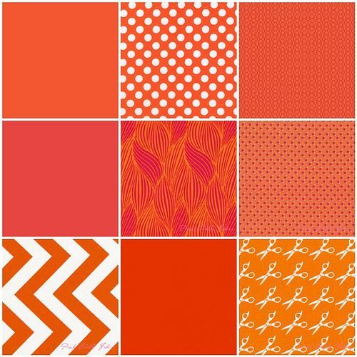 Pantone Color Of The Year 2012 tangerine tango quilt challenge | tango, pantone color and pantone